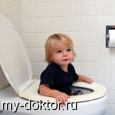 Как приучить ребенка к горшку? - MY-DOKTOR.RU