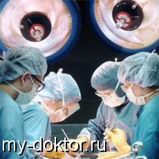 Профилактика кровопотери и гиповолемии в хирургии - MY-DOKTOR.RU