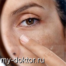 Уход за кожей после лета и ликвидация пигментных пятен - MY-DOKTOR.RU