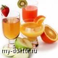 Какие соки мы пьем? - MY-DOKTOR.RU